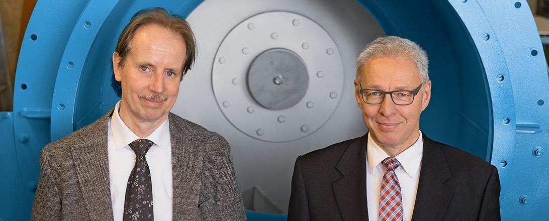 Heinz-Josef- Thomas und Fred Holmer - Geschäftsführer der Ventapp GmbH