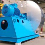 centrifugal fan + clutch