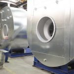 centrifugal fans with stainless steel casing