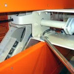 Antrieb mit Schutzvorrichtung zur Sperrluftklappe